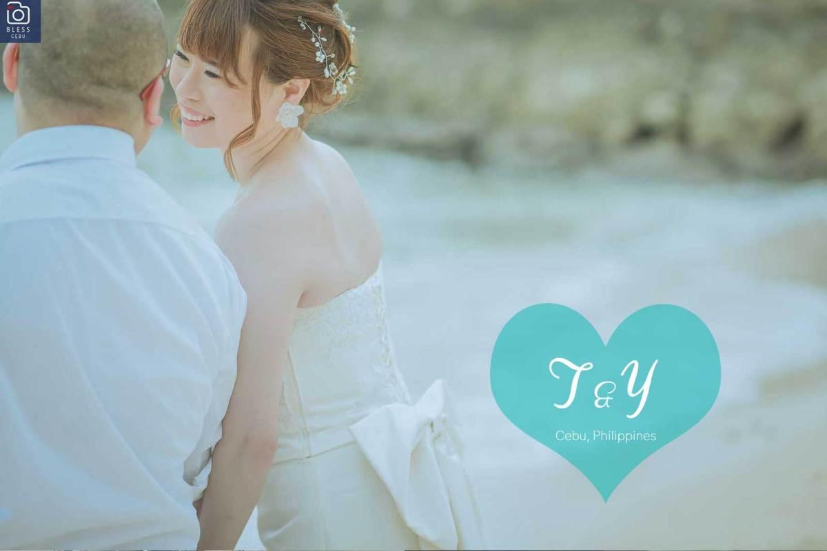 T様&Y様は手作りのMY WEDDING DRESSで撮影♡