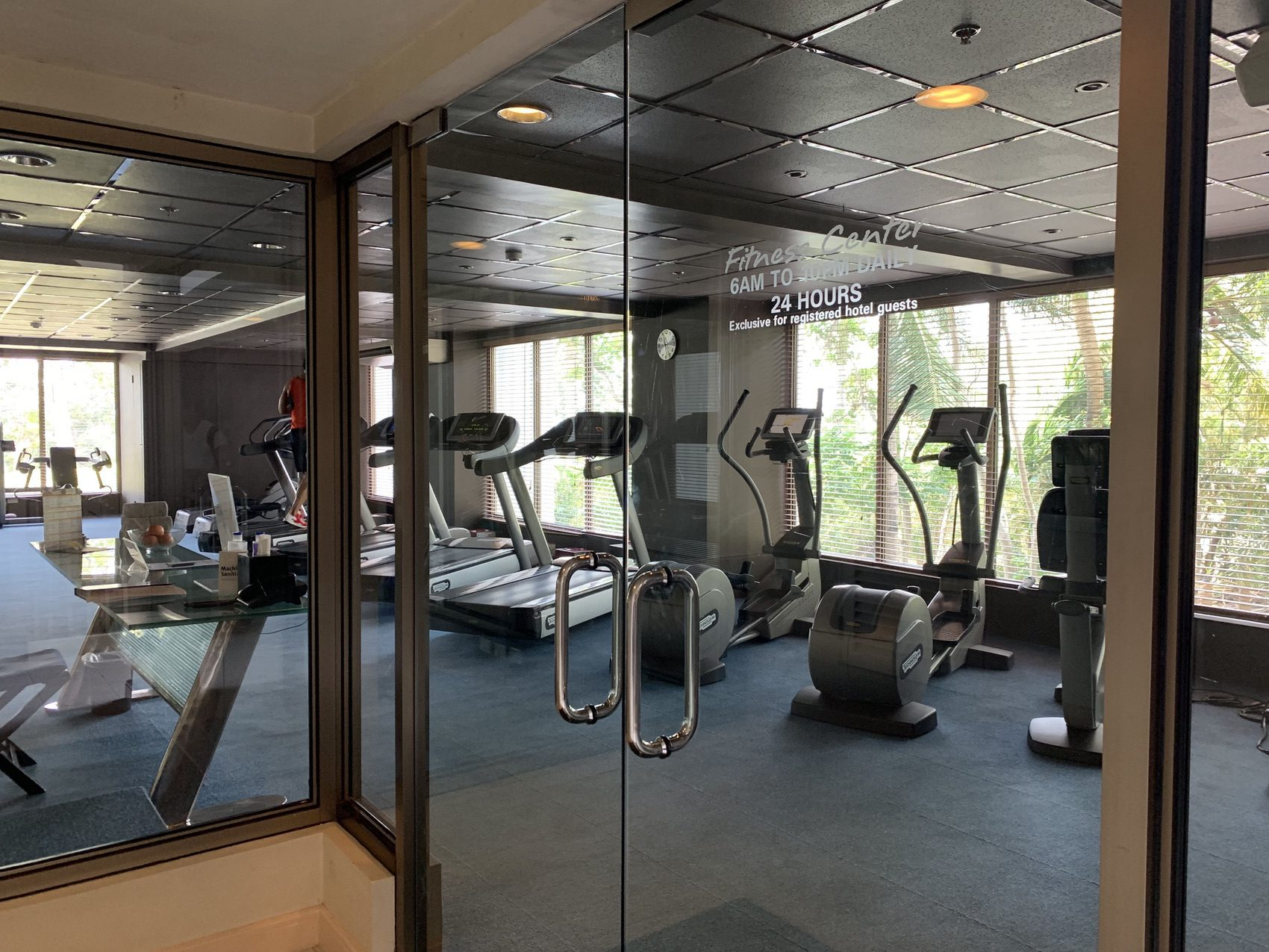 Movenpick cebu fitness center