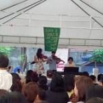【学校:Open Hpuseの開会式と模擬店】