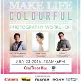 """Make Your Life Colourful!"" Photography Workshop at SM City Cebu | Cebu Finest"