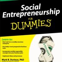 Social Entreprenuership 20 yrs+