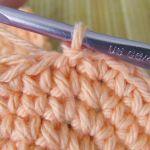Slip stitch into the next stitch