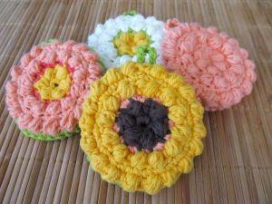 Tawashi Scrubber Crochet Pattern by Claire Jones
