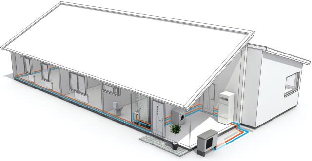 CEI NI LTD - Air Source Heat Pump