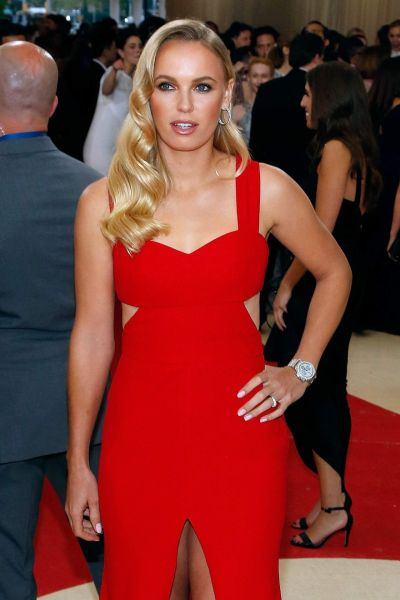 Caroline Wozniacki – 2016 Met Gala Held at the Metropolitan Museum of Art New York