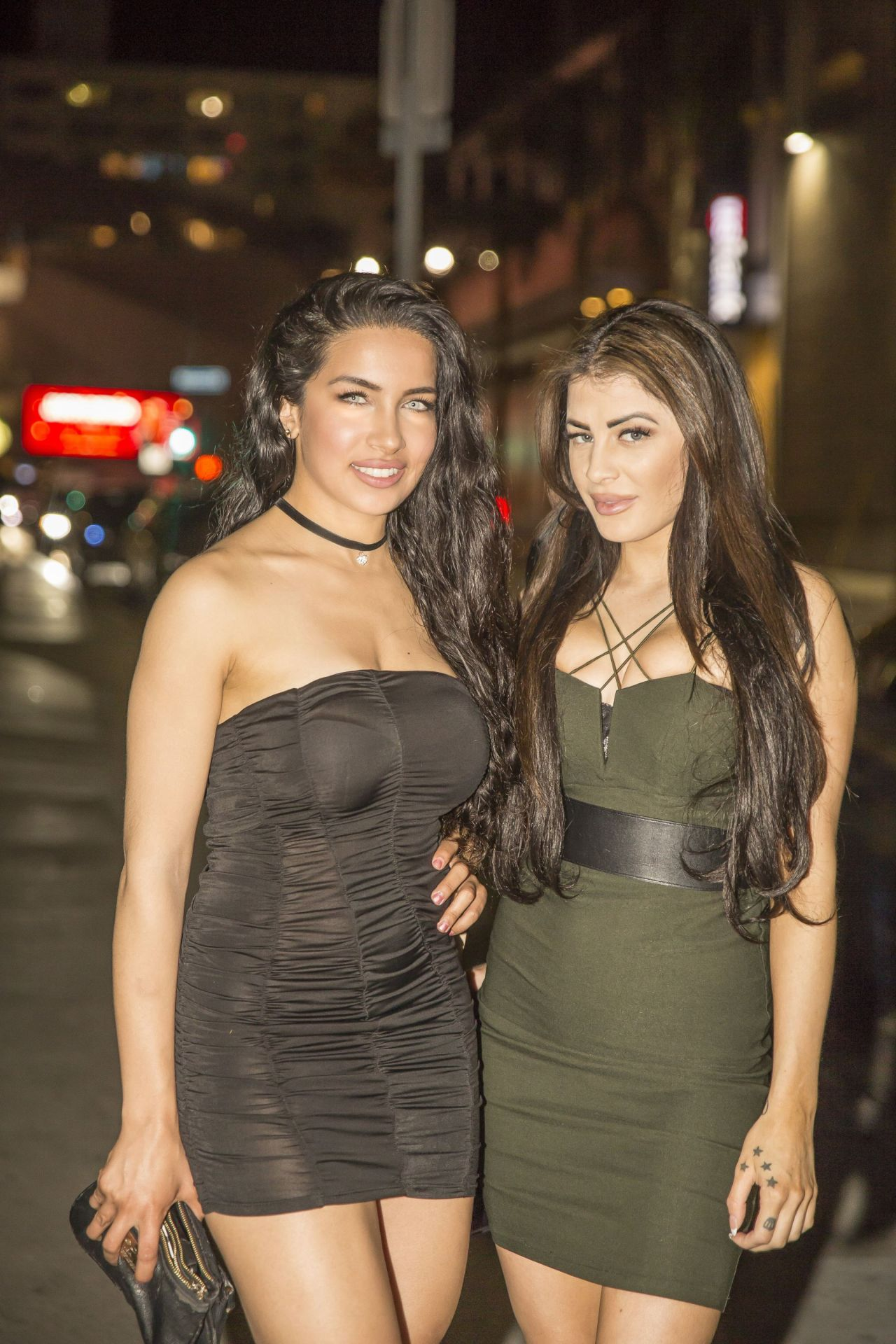 Sexiest Pictures: Melissa Howe & Nasia Jansen Night Out