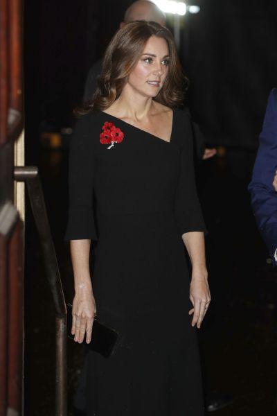 Kate Middleton - Festival of Remembrance in London 11/10/2018