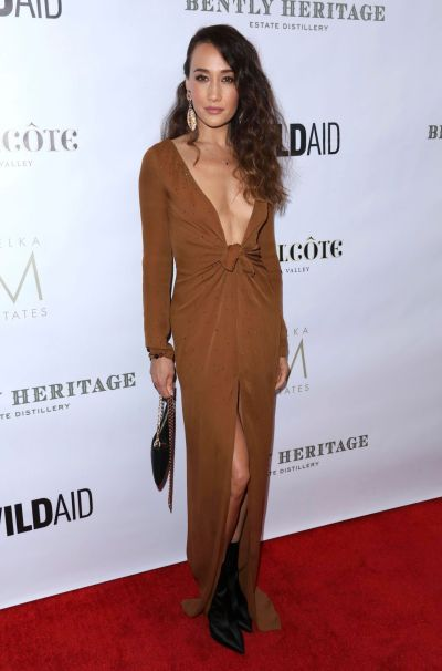 Maggie Q - An Evening in China With WildAid, Los Angeles 11/10/2018