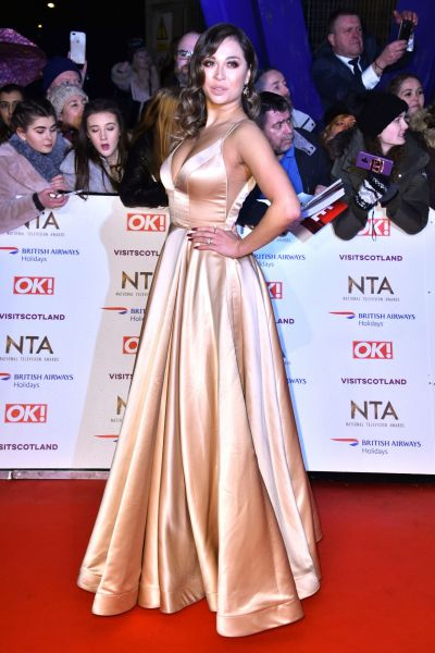Katya Jones – National Television Awards 2019