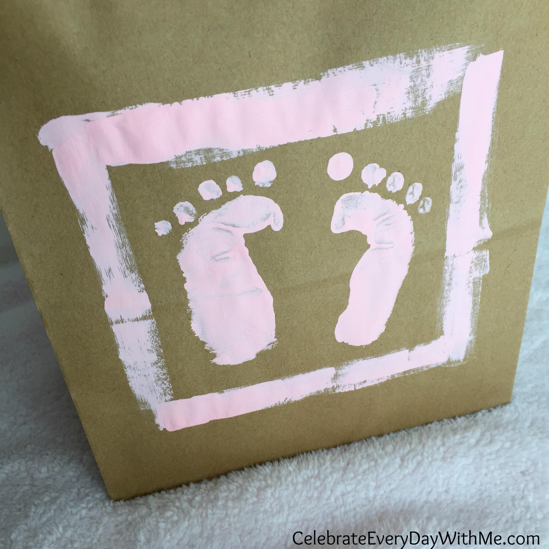 Fullsize Of Baby Foot Print