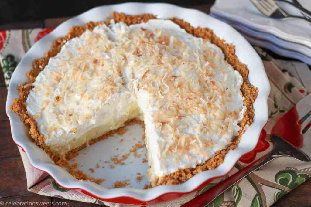 Coconut Cream Pie ~ Celebrating Sweets