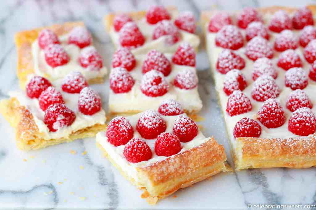 Raspberry Lemon Cream Tart - Celebrating Sweets