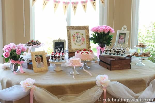Tips and ideas for creating a dessert table