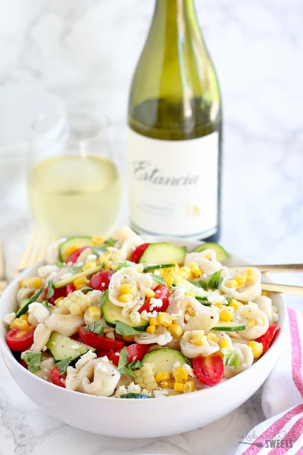 ... salad a summery pasta summer macaroni salad with tomatoes and zucchini