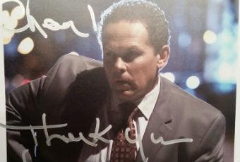 Kevin Chapman Autograph