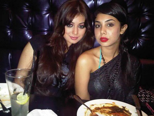 Photo of Ayesha Takia & her Sister  Natasha
