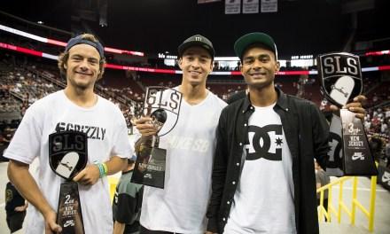 Nyjah Huston Wins at Newark Stop of Street League Skateboarding Nike SB World Tour