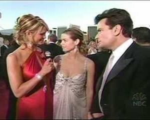 Denise Richards in Golden Globes Arrivals Special