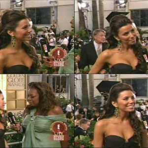 Eva Longoria in E! Live from the Red Carpet