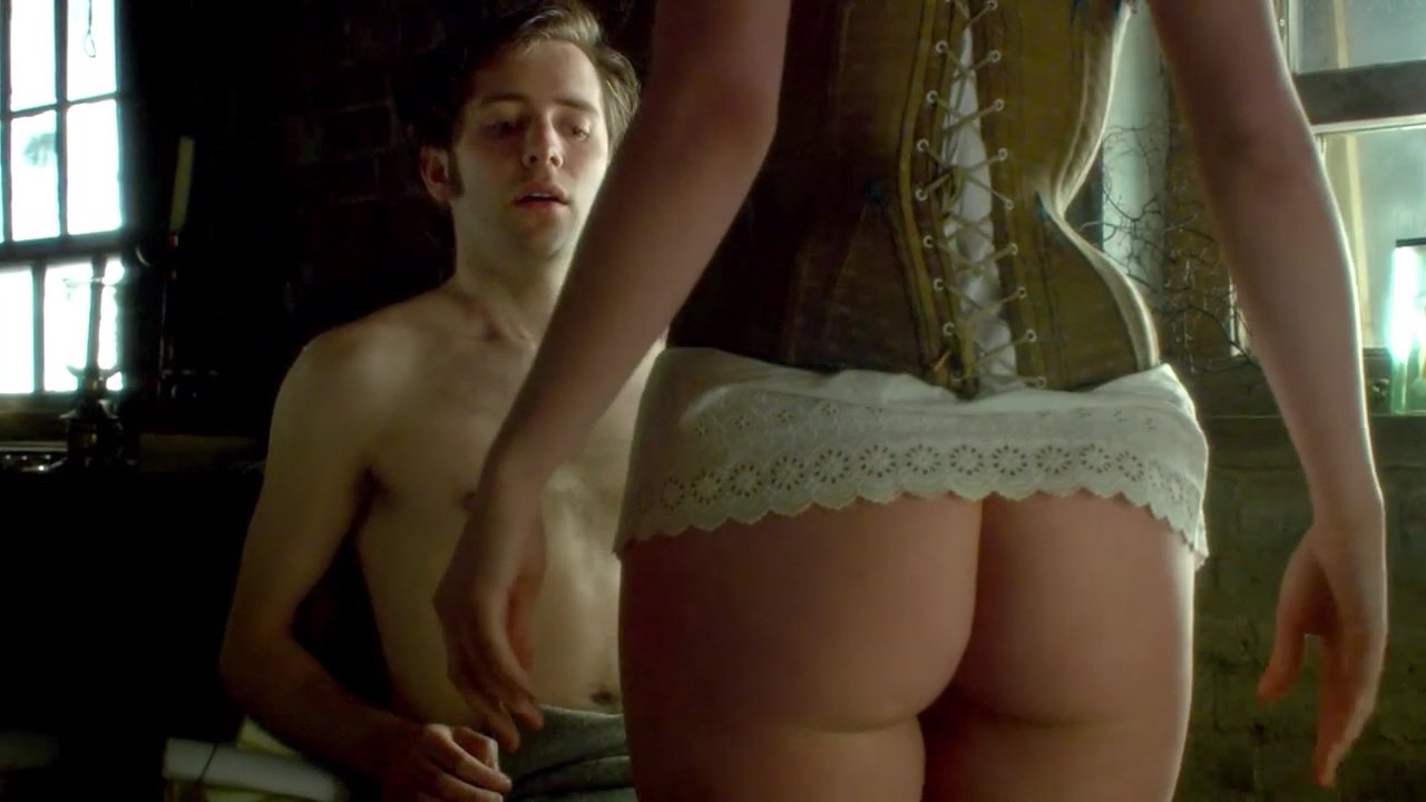 Jennie jacques ass and nipples in desperate romantics series 4