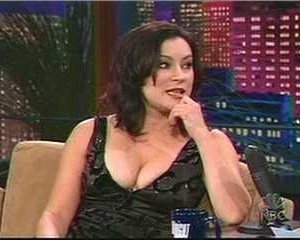 Jennifer Tilly in The Tonight Show with Jay Leno
