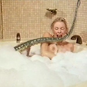 Pamela Stephenson in Jacques Cousteau Bath Salts