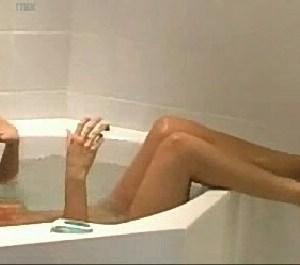 Rachel Hunter in Bath at Home