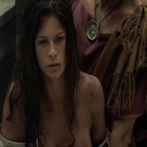 Rhona Mitra in Spartacus