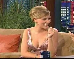 Scarlett Johansson in The Tonight Show with Jay Leno