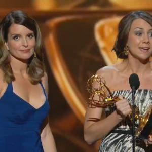 Tina Fey in The 2013 65th Annual Primetime Emmy Awards