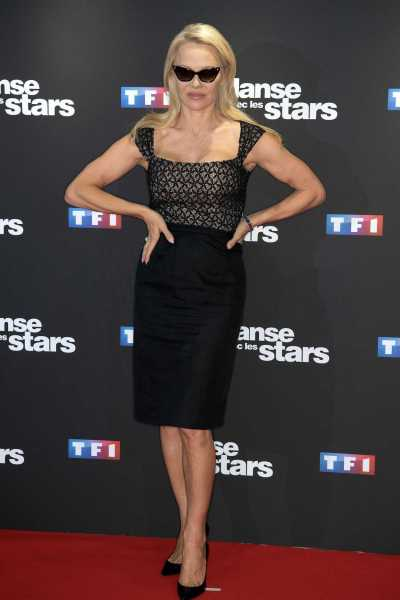 Pamela Anderson at the Danse Avec Les Stars Photocall at TF1 TV Studios in Paris 09/11/2018 ...