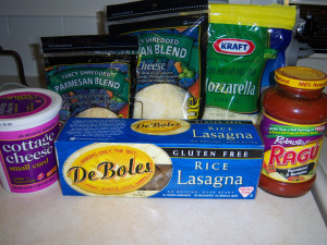 lasagnaforcd The Easiest Gluten free Lasagna Recipe!