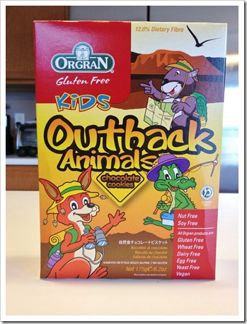IMG 1854 thumb Review: Orgran Outback Animals Chocolate Cookies