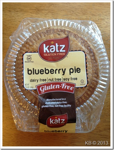 IMG 4571 thumb Review: Katz Gluten Free Blueberry Pie
