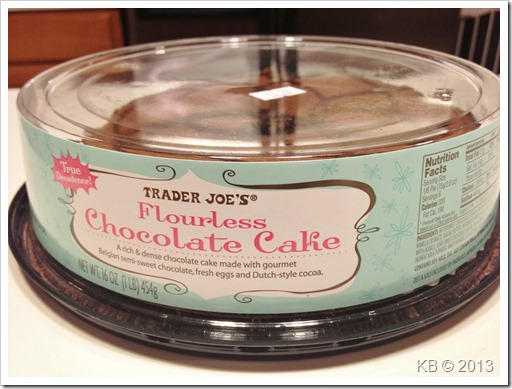 IMG 5111 thumb Review: Trader Joe's Flourless Chocolate Cake