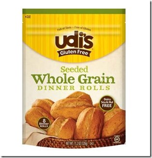 udisswgdr thumb Review: Udi's Gluten Free Seeded Whole Grain Dinner Rolls