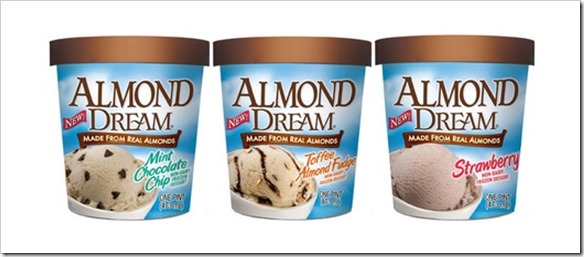 adream thumb Almond Dream Introduces Three New Members to the Frozen Dessert Family