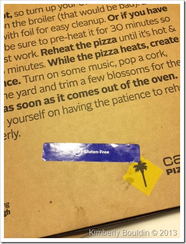 photo 3 thumb Review: California Pizza Kitchen Gluten Free Pizza