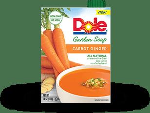 Carrot ginger package