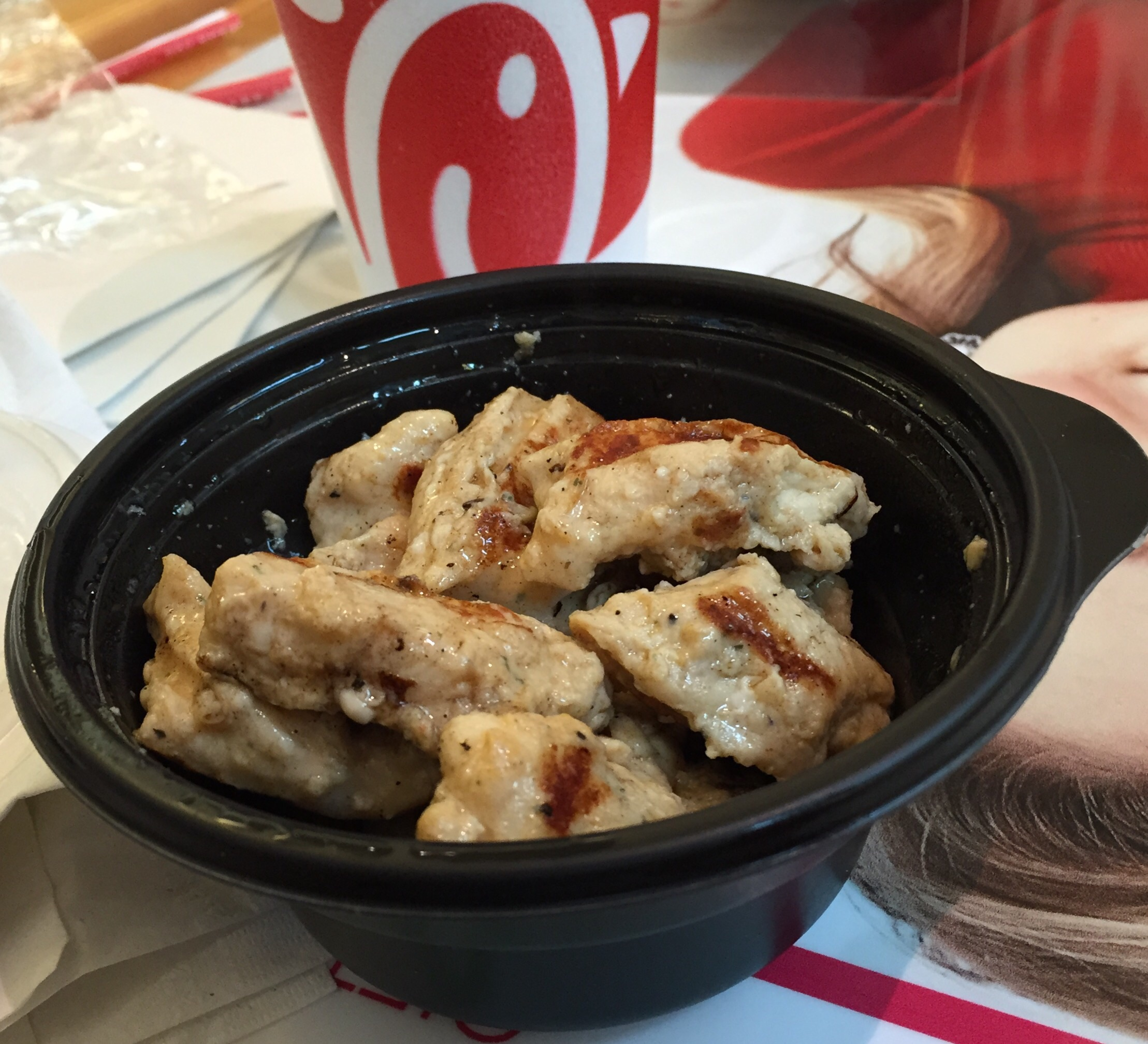review chickfila grilled nuggets