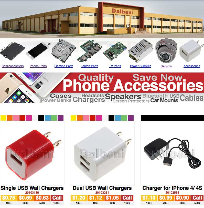 Cell Phone Chargers