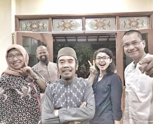with Om Pras dan Pakdhe PrieGS