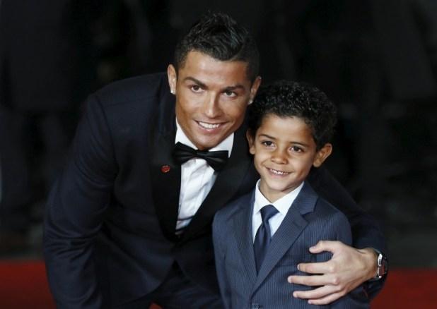 CR7 e Filho