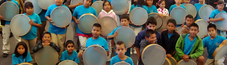 Persian Frame Drumers