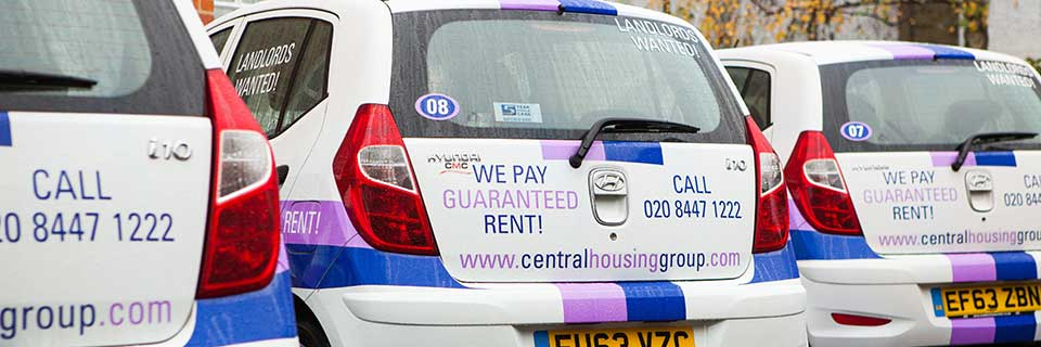 central housing group Guaranteed rent