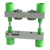 An Image of a 2 post SCR Clamp Manufactured by Centrx