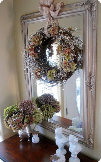 foyer fall wreath