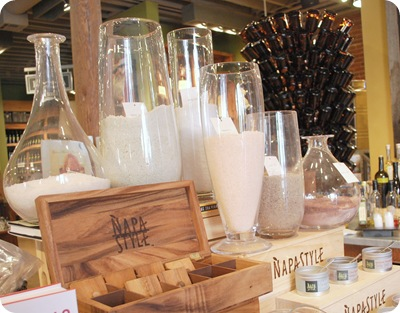 napastyle salts in carafes