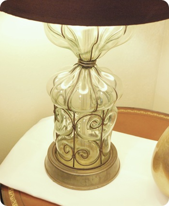 antique fair lamp