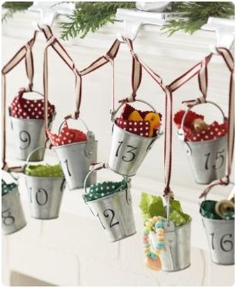 buckets of joy advent calendar